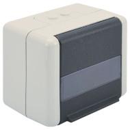 Розетка настенная для наружной проводки DIGITUS 2хKeystone (DN-93844-OD)