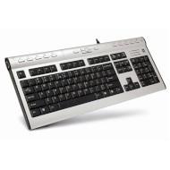 Клавиатура A4TECH KL-7 MUU Silver