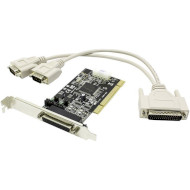 Контроллер STLAB PCI to 2-Ports Serial with Power (CP-100)