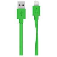 Кабель BELKIN MIXIT UP Flat Lightning to USB ChargeSync Green 1.2м (F8J148bt04-GRN)