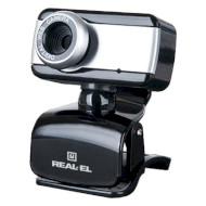 Веб-камера REAL-EL FC-130 (EL123300003)