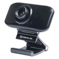 Веб-камера REAL-EL FC-250 (EL123300007)