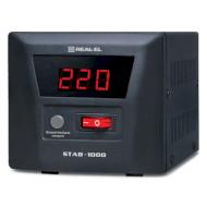 Стабилизатор напряжения REAL-EL STAB-1000
