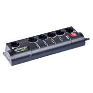 Сетевой фильтр-удлинитель ENERGENIE EG-PMS-LAN Black 1.8м