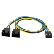 Разветвитель COOLING BABY 4-pin PWM to 2 x 4-pin PWM Power Y Splitter 35см