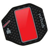 Чехол для смартфона YURBUDS Ergosport Armband Black/Red (YBIMARMB01BNR)