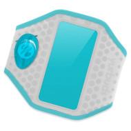 Чехол для смартфона YURBUDS Ergosport LED Armband Gray/Aqua (YBWNARMB02GNA)