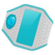 Чехол для смартфона YURBUDS Universal Ergosport LED Armband Gray/Aqua (YBWNUARM02GNA)