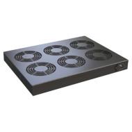 Панель вентиляційна CONTEG 6 вентиляторів з термостатом (DP-VEN-06-H)