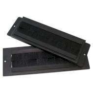 Кабельный ввод CONTEG 150x56мм со щёткой, пыленепроницаемый, для шкафов серий RON, ROD, RUN, REN