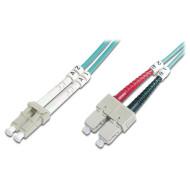 Оптический патч-корд DIGITUS LC-SC Duplex OM3 10м (DK-2532-10/3)