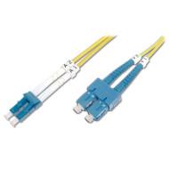 Оптический патч-корд DIGITUS LC-SC Duplex OS2 10м (DK-2932-10)