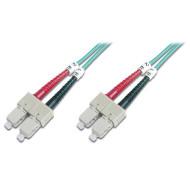 Оптический патч-корд DIGITUS SC-SC Duplex OM3 2м (DK-2522-02/3)