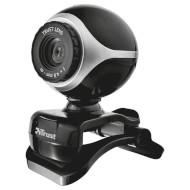 Веб-камера TRUST Exis Black/Silver