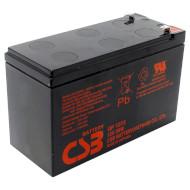 Аккумуляторная батарея CSB GP1272F2 28W (12В 7.2Ач)