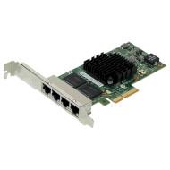 Сетевая карта PCI-E INTEL Ethernet Server Adapter I350-T4V2