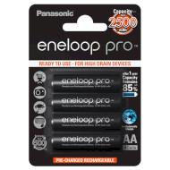Аккумулятор PANASONIC Eneloop Pro AA 2500мАч 4шт/уп (BK-3HCDE/4BE)