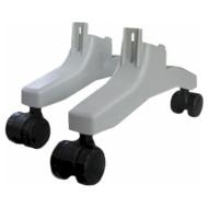 Комплект ножек с колёсиками для конвектора ТЕРМІЯ КОА-03