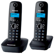 DECT телефон PANASONIC KX-TG1612 Black/Gray