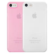 Чехол-накладка OZAKI O!coat 0.3 Jelly для iPhone 7 2 in 1 Clear and Pink