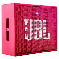 Портативная акустическая система JBL Go Pink