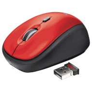 Мышь TRUST Yvi Red