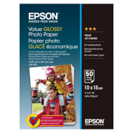 Фотопапір EPSON Value Glossy 10x15см 183г/м² 50л (C13S400038)