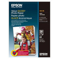 Фотопапір EPSON Value Glossy A4 183г/м² 20л (C13S400035)