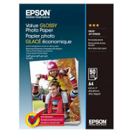 Фотопапір EPSON Value Glossy A4 183г/м² 50л (C13S400036)