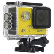 Экшн-камера BRAVIS A3 Yellow (A3 AC YELLOW)
