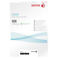 Самоклеящаяся наклейка XEROX Mono Laser 21UP rounded 100л (003R96298)