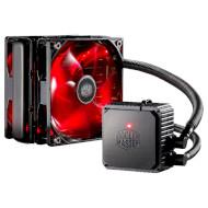 Система водяного охлаждения для процессора COOLER MASTER Seidon 120V V3 Plus Red (RL-S12V-22PR-R1)