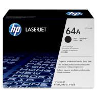 Тонер-картридж HP 64A Black (CC364A)