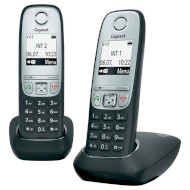DECT телефон GIGASET A415 Duo Black