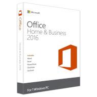 MICROSOFT Office Home & Business 2016 32/64-bit English 1 ПК DVD (T5D-02710)