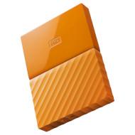 Портативный жёсткий диск WD My Passport 1TB USB3.0 Orange (WDBYNN0010BOR-WESN)
