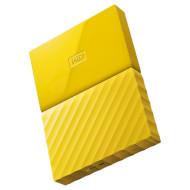 Портативный жёсткий диск WD My Passport 1TB USB3.0 Yellow (WDBYNN0010BYL-WESN)