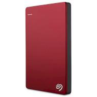 """Внешний портативный винчестер 2.5"""" SEAGATE Backup Plus Slim 2TB USB3.0/Red (STDR2000203)"""