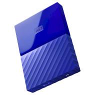 Портативный жёсткий диск WD My Passport 3TB USB3.0 Blue (WDBYFT0030BBL-WESN)
