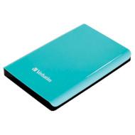 """Внешний портативный винчестер 2.5"""" VERBATIM Store 'n' Go 500GB USB3.0/8MB/5400rpm Silvertree Green (VRB 53171)"""