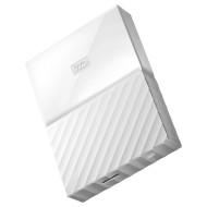 Портативный жёсткий диск WD My Passport 3TB USB3.0 White (WDBYFT0030BWT-WESN)