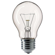 Лампочка PHILIPS Standard A-Shape Clear A55 E27 75W 2700K 220V (926000004004)