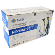 Тонер-картридж G&G для Brother HL-21x0R, DCP-7030/7032, MFC-7320 Black (G&G-TN2175)