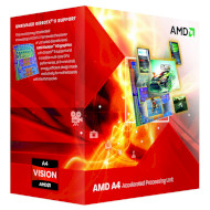 Процессор AMD A4-3400 2.7GHz FM1 (AD3400OJHXBOX)