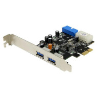 Контроллер STLAB PCI-E to USB 3.0 2+2-Ports (U-780)
