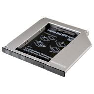 "Адаптер-переходник Optibay 9.5mm GRAND-X HDC-24 2.5"" SATA"