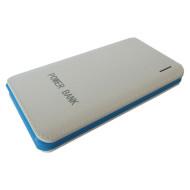 Портативное зарядное устройство SMARTFORTEC PBK-10000 White/Blue (10000mAh)