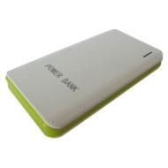 Портативное зарядное устройство SMARTFORTEC PBK-10000 White/Green (10000mAh)