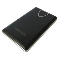 Портативное зарядное устройство SMARTFORTEC PBK-10000-LCD Black (10000mAh)