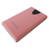 Портативное зарядное устройство SMARTFORTEC PBK-10000-LCD Pink (10000mAh)